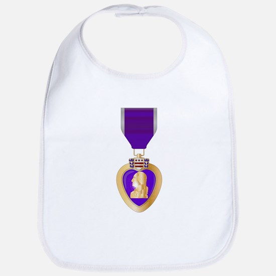Purple Heart Medal Bib
