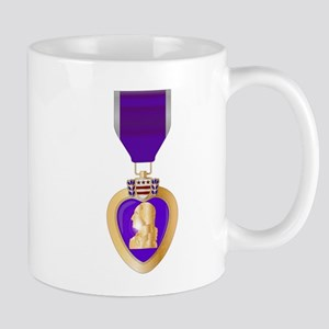 Purple Heart Medal Mugs