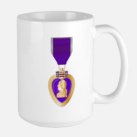 Purple Heart Medal Mugs