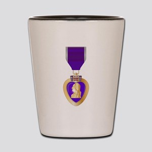 Purple Heart Medal Shot Glass