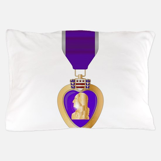 Purple Heart Medal Pillow Case