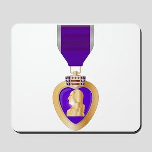 Purple Heart Medal Mousepad