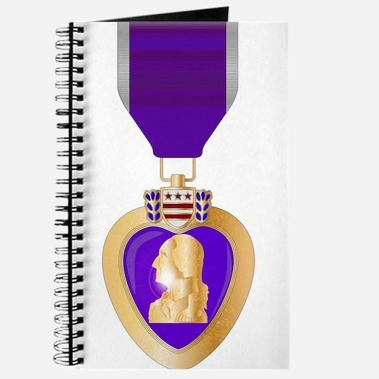 Purple Heart Medal Journal