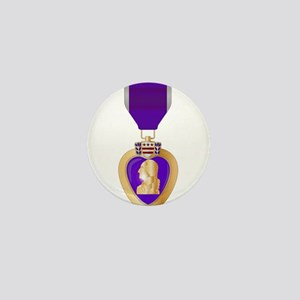 Purple Heart Medal Mini Button