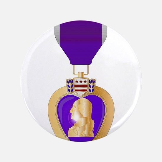 Purple Heart Medal Button
