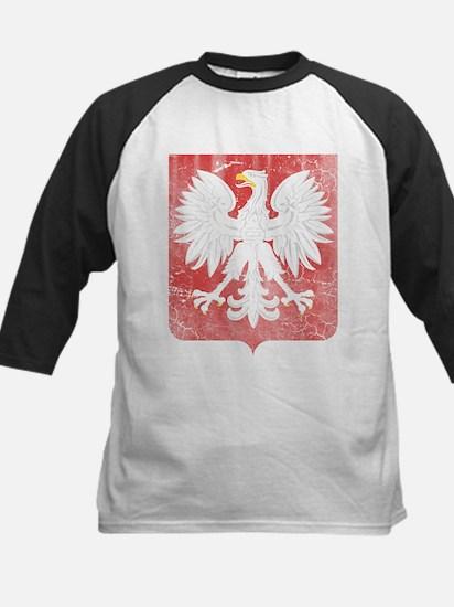 Vintage Polish Coat of Arms No Cro Baseball Jersey