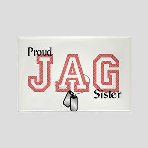 jag sister Rectangle Magnet