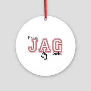 jag sister Ornament (Round)