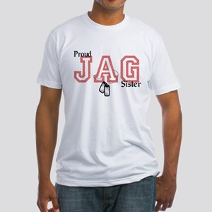 jag sister Fitted T-Shirt