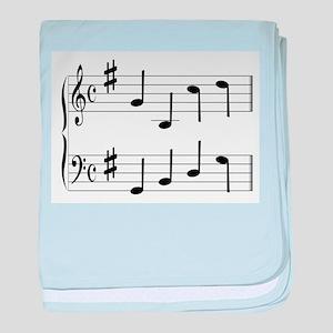 Music Chord baby blanket