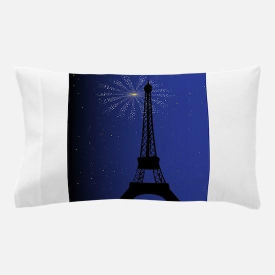 Paris Night Pillow Case