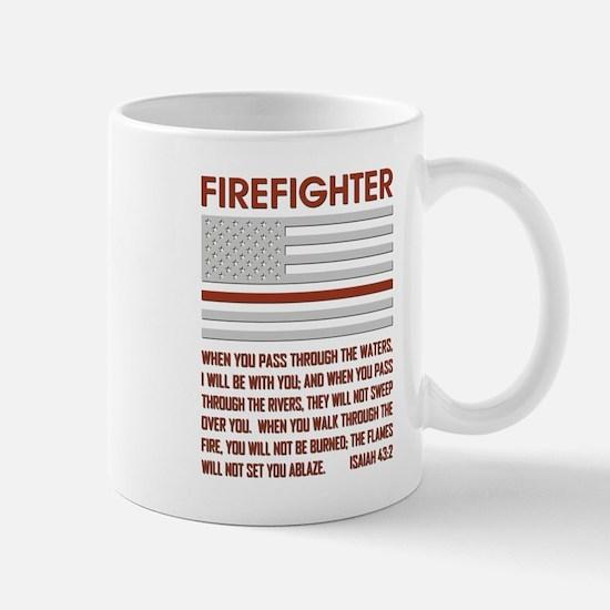 THIN RED LINE Mug