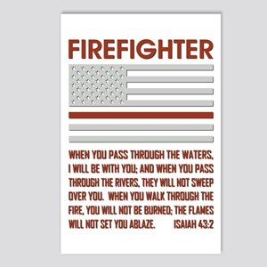 THIN RED LINE Postcards (Package of 8)