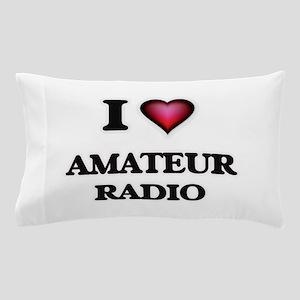 I Love Amateur Radio Pillow Case