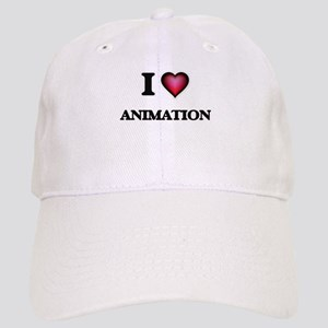 I Love Animation Cap