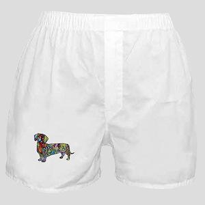 Wild Dachshund Boxer Shorts