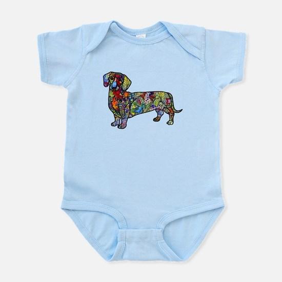 Wild Dachshund Infant Bodysuit
