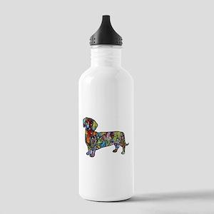 Wild Dachshund Stainless Water Bottle 1.0L