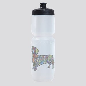 Wild Dachshund Sports Bottle