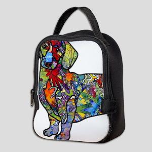Wild Dachshund Neoprene Lunch Bag
