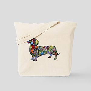 Wild Dachshund Tote Bag