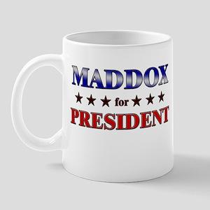 MADDOX for president Mug