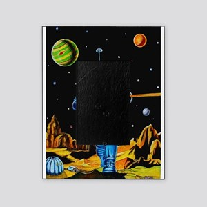 FIGHTING SPACEMAN Picture Frame