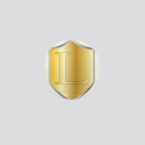 Golden Anniversary Mini Button