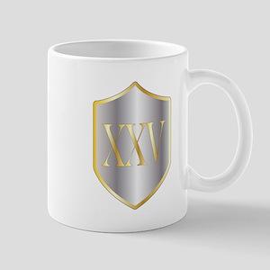 Silver Anniversary Mugs
