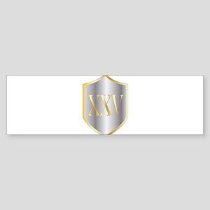 Silver Anniversary Bumper Sticker