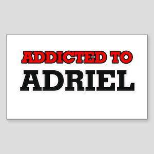 Addicted to Adriel Sticker