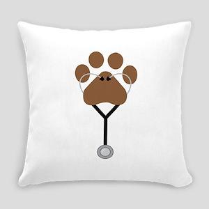 Vet Stethescope Everyday Pillow