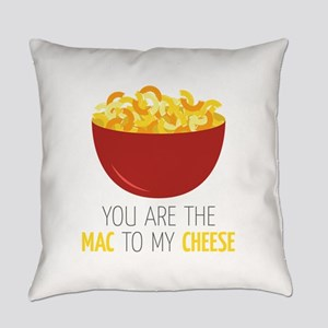 Mac To Cheese Everyday Pillow