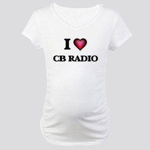 I Love Cb Radio Maternity T-Shirt