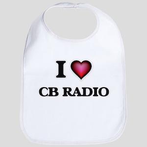 I Love Cb Radio Bib