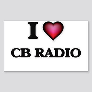 I Love Cb Radio Sticker