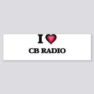 I Love Cb Radio Bumper Sticker