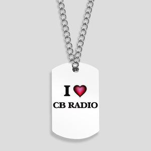 I Love Cb Radio Dog Tags