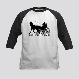 Drive Time 2 - Carriage Driving Baseball Jersey