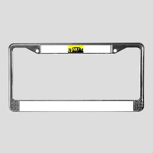 Stonehenge License Plate Frame