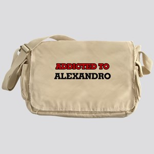 Addicted to Alexandro Messenger Bag