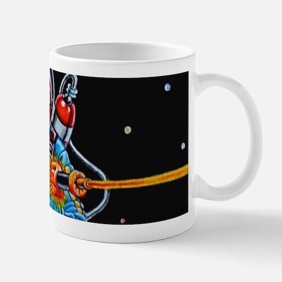 FIGHTING SPACEMAN Mugs