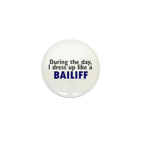 Dress Up Like A Bailiff Mini Button (100 pack)