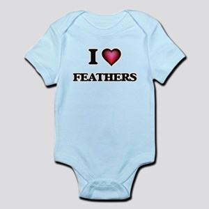 I Love Feathers Body Suit