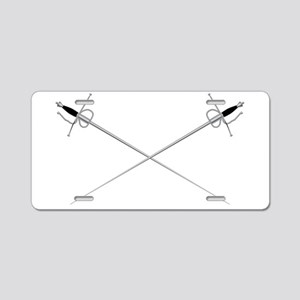 Rapier Aluminum License Plate