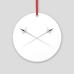 Rapier Round Ornament