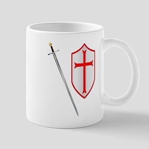 Crusaders Sword and Shield Mugs