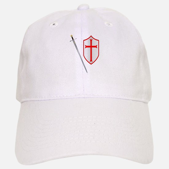 Crusaders Sword and Shield Baseball Baseball Cap