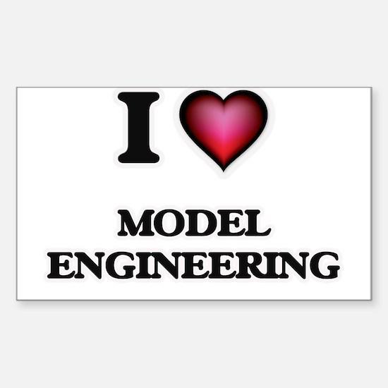 I Love Model Engineering Decal