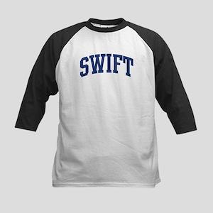 SWIFT design (blue) Kids Baseball Jersey